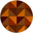 rug #1153394 | round abstract rug