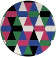 rug #1156999 | round black rug