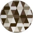 rug #1157111 | round beige rug