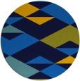 rug #1164191 | round blue rug