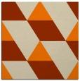 rug #1164895 | square orange rug