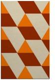 rug #1165631 |  orange rug
