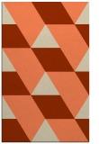 rug #1165847 |  orange rug