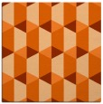 rug #1167011 | square red-orange rug