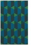 rug #1167535 |  blue-green rug