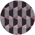rug #1168091   round purple rug