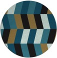 rug #1169707 | round black abstract rug