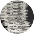 rug #1186567 | round black abstract rug