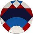 rug #1203100 | round geometry rug