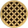 rug #120500   round borders rug