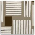 rug #1207419   square mid-brown rug