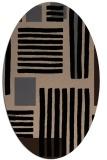 rug #1207636   oval stripes rug