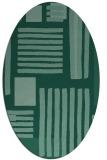 rug #1207681 | oval abstract rug