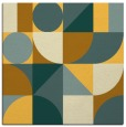 rug #1209427 | square light-orange rug