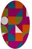 rug #1209586   oval circles rug