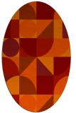 rug #1209728   oval circles rug