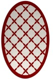 rug #121452 | oval traditional rug
