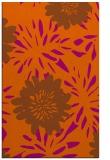 rug #1215655 |  red-orange rug