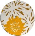 rug #1216095 | round light-orange rug