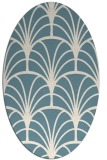rug #1217156 | oval graphic rug