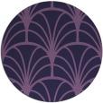 rug #1217675 | round blue-violet rug