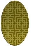 rug #1222442 | oval check rug