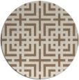 rug #1223259   round beige rug