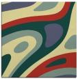 rug #1227851 | square blue-green rug