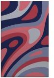 rug #1228343 |  blue-violet rug