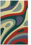 rug #1228587 |  blue-green rug
