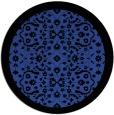 rug #1285863 | round black rug