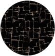 rug #1291191 | round black rug