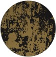 rug #1294887 | round black abstract rug