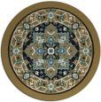 rug #1304087 | round black rug