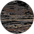 rug #1315107 | round black rug