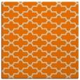 rug #168741 | square orange rug