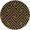rug #171261 | round black rug
