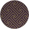 rug #171473   round purple rug
