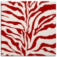 rug #172185 | square red rug