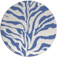 rug #173041 | round blue rug