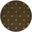rug #174877 | round black rug