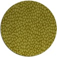 rug #176841 | round light-green rug