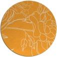 rug #178629   round light-orange rug