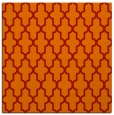 rug #180989 | square red rug