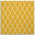 rug #181033 | square yellow rug
