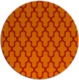 rug #182045   round red rug