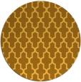 rug #182105   round light-orange rug