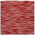 rug #186273 | square red rug