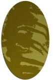 rug #188457 | oval light-green rug
