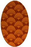 rug #191913 | oval graphic rug